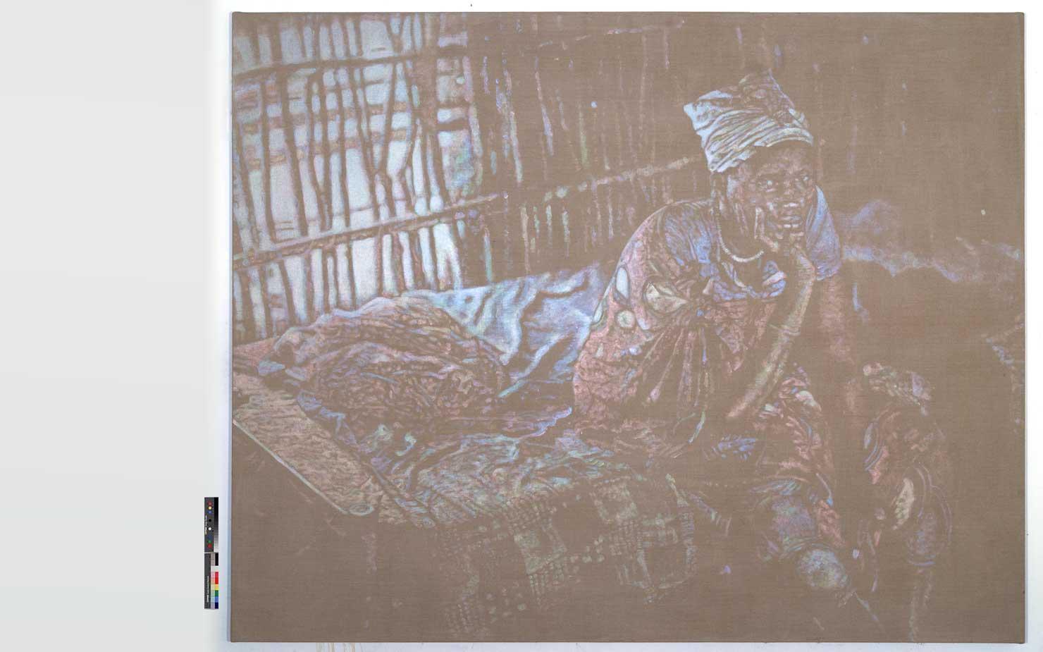 Woman-Sudan-hut-RGB
